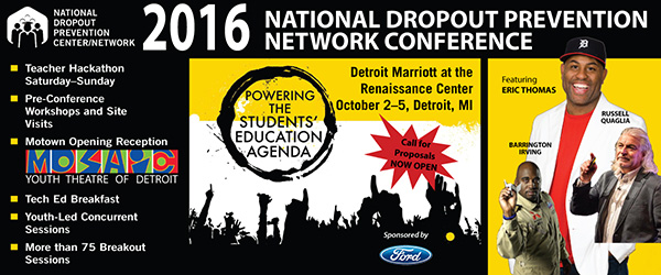 2016 National Dropout Prevention Network Conference